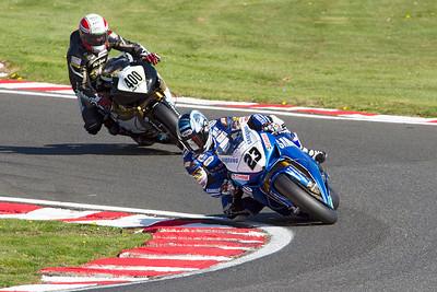 23 Ryuichi Kiyonari, Honda 1000, Samsung Honda, Britten's, MCE Superbike race 2.