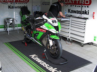 Kawasaki 1000, Quattro Plant Kawasaki, Mark Atichison.