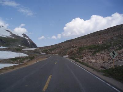 Heading up to Beartooth Pass