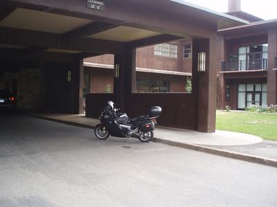 Check in at Jackson Lake Lodge, WY