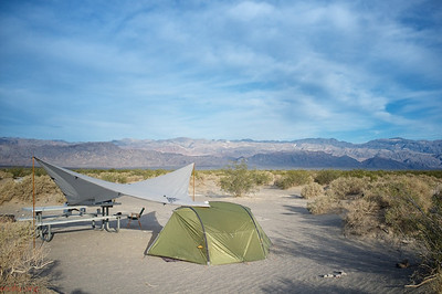 Camping at Stovepipe Wells