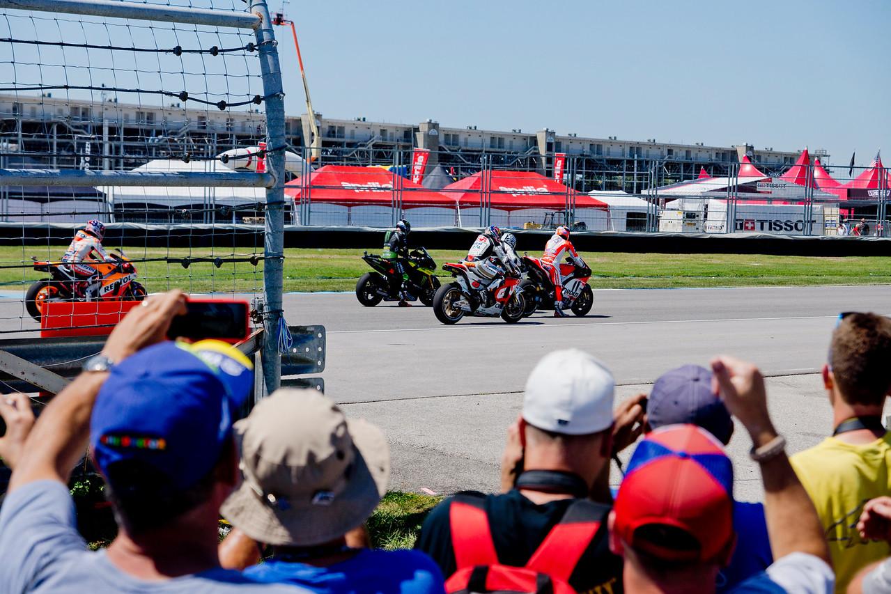 Moto GP Practice Starts