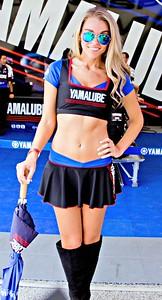 Yamalube Moto GP Girl