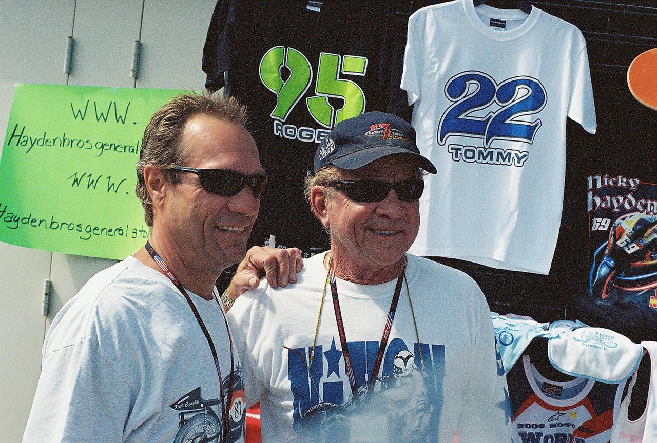 Jay Springsteen and Gary Nixon