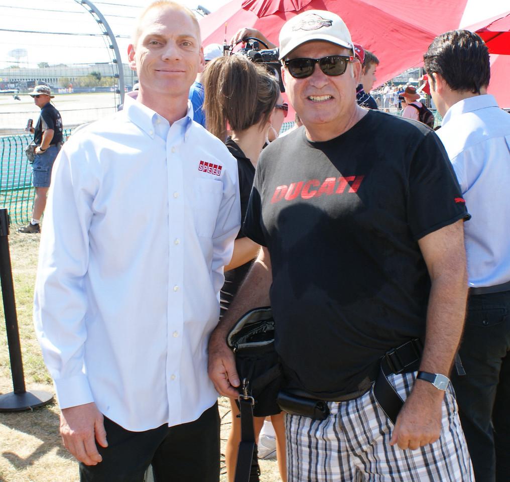 Scott Russell and Larry Hughey