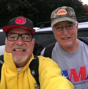 Larry Hughey and Gary Pontius