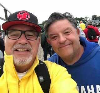 Larry Hughey and Chuck Nice