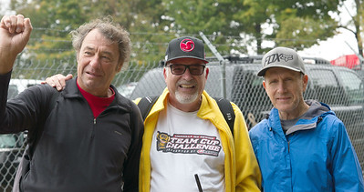 Steve Stackable, Larry Hughey and Gary Semics