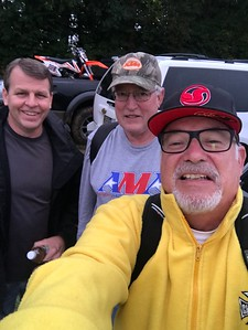 Jeff Bergman, Gary Pontius and Larry Hughey