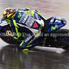 Valentino Rossi In the rain at COTA 2015 FP2