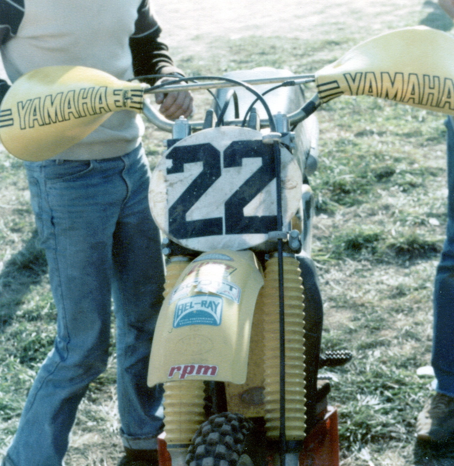 """Mickey Kessler bike with Mud Mucker hand protectors<br /> Go to this link to find out more about Mickey Kessler<br />  <a href=""""http://www.racerxonline.com/article/where-are-they-now-mickey-kessler.aspx"""">http://www.racerxonline.com/article/where-are-they-now-mickey-kessler.aspx</a>"""