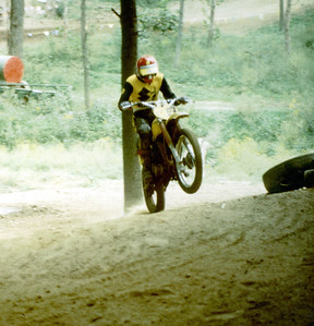 Larry Hughey at Knobby Hill motocross track