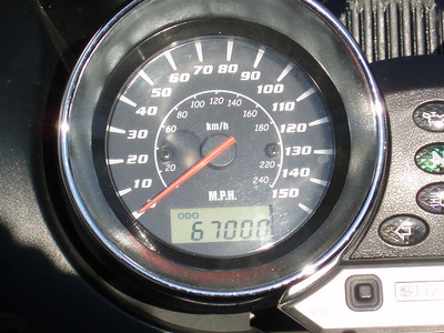 June 7, 2009: 60,000 miles in four years!