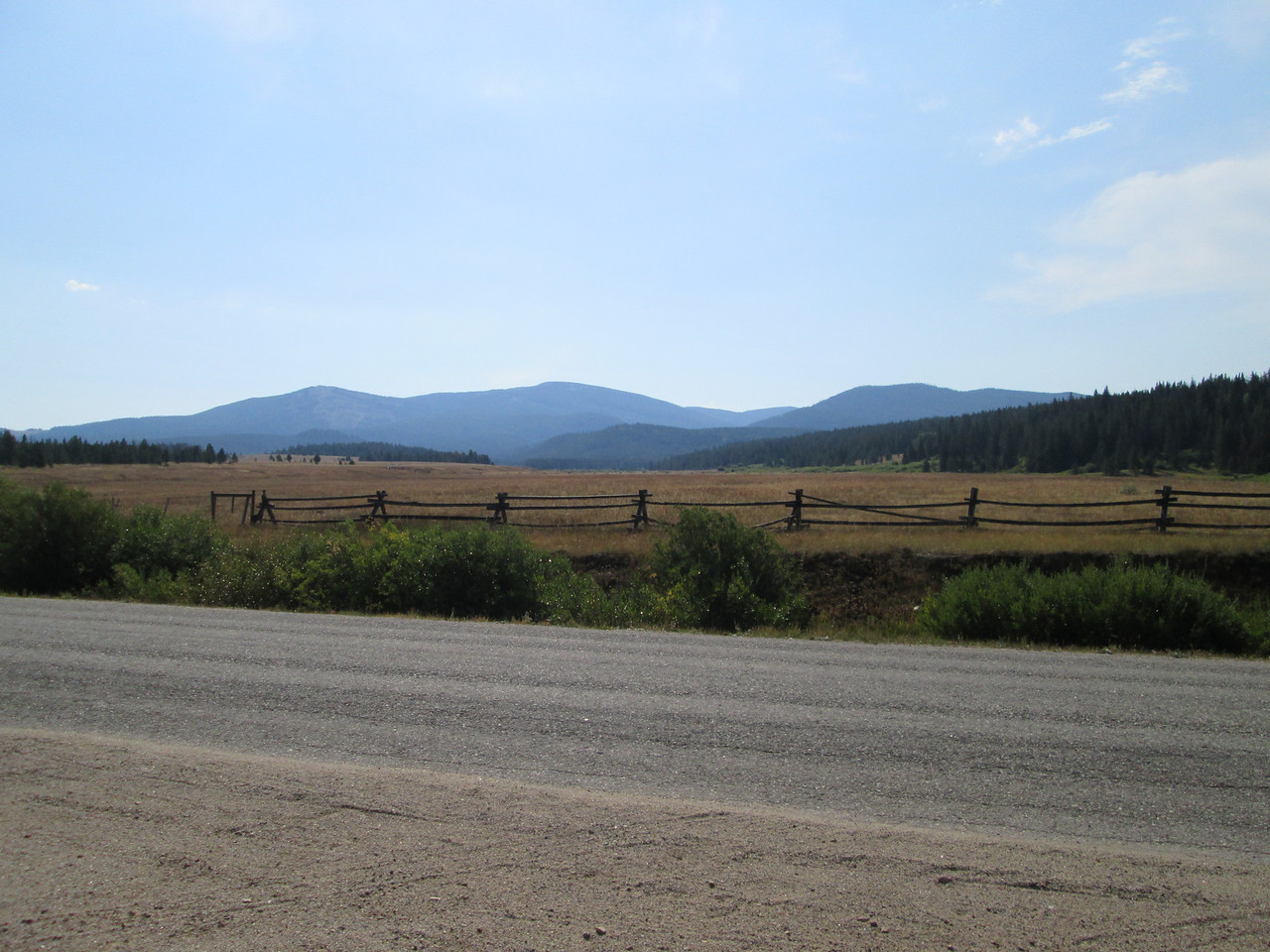 20130813 SE from Ranch toward Burnt Mt
