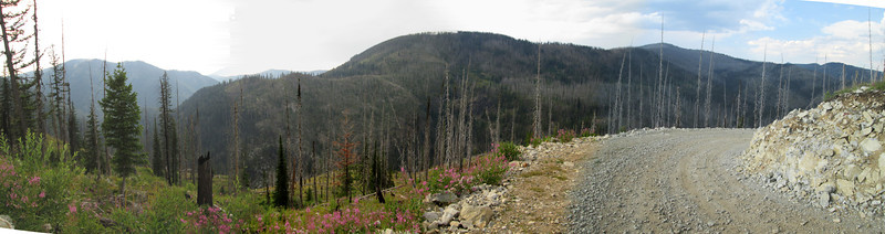 20130810 Cayuse Overlook Pano