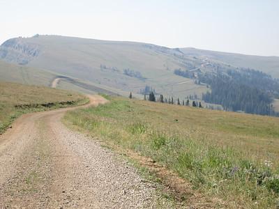 20130814 Ridge Running toward Lazy Man and Red Hills