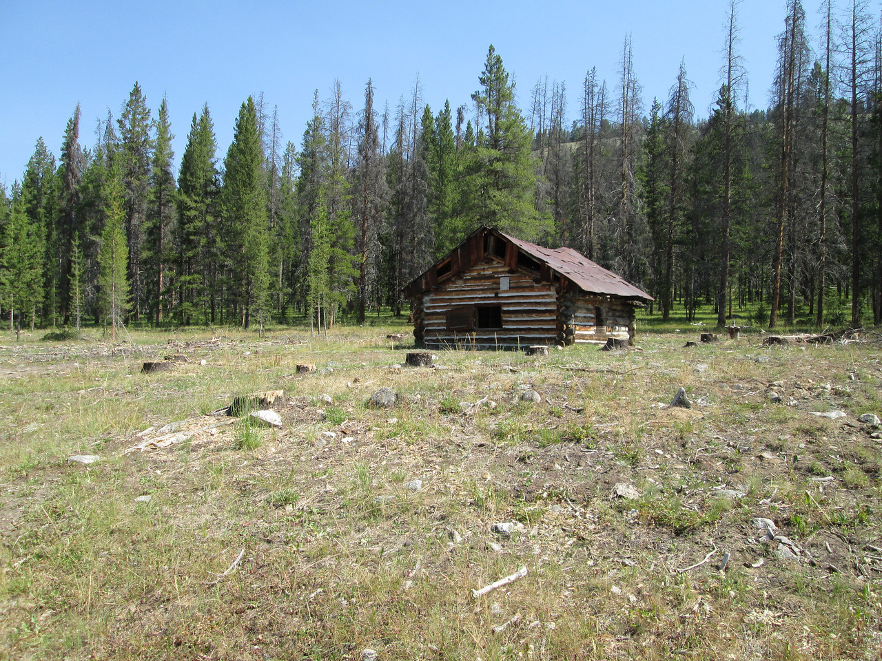 20130813 Cabin near Ghost Town Coolidge