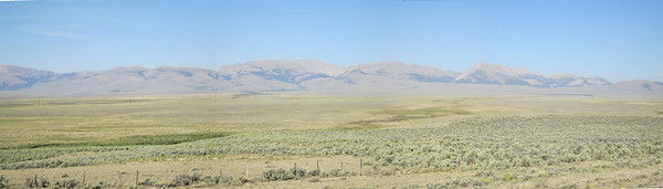 20130815 Beaverhead Mtns from Medicine Lodge Rd Pano 2