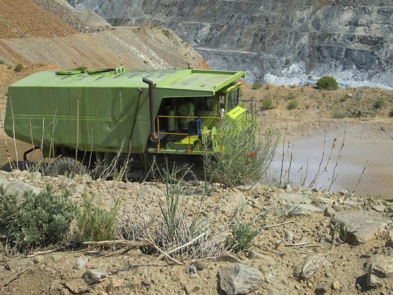 20130813 Water Wagon at the Treasure Chest Talc Mine