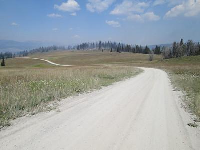 20130814 Heading Down to Eureka Basin