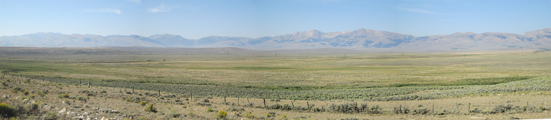 20130815 Beaverhead Mtns from Medicine Lodge Rd Pano