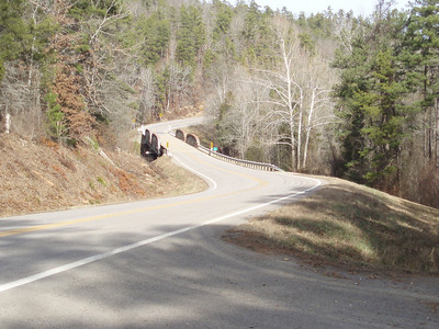 January 3rd, 2008. Arkansas Scenic Byway 7. Temperature at 10:00am: 30 degrees.