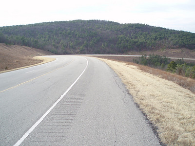 Oklahoma Hwy 82 north of Talihina