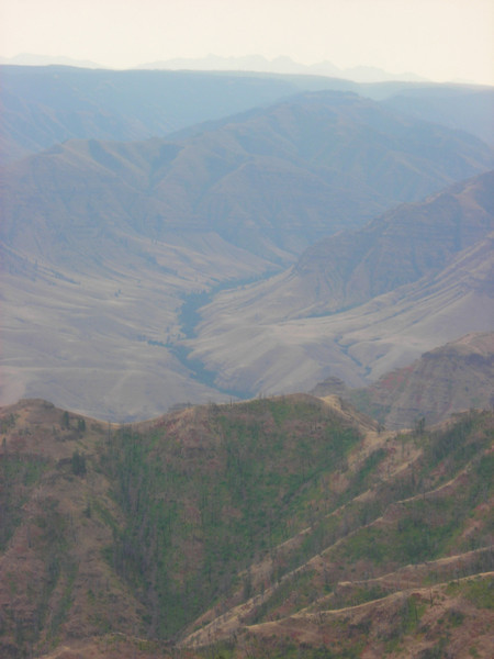 Imnaha River from Buckhorn LO