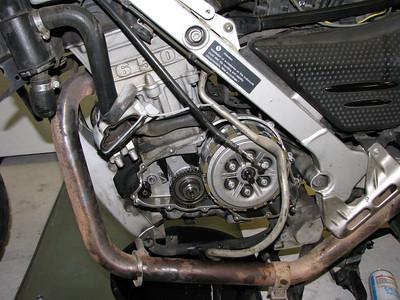 F650GS Water Pump Change