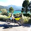 Zarah's DRZ at June Lake