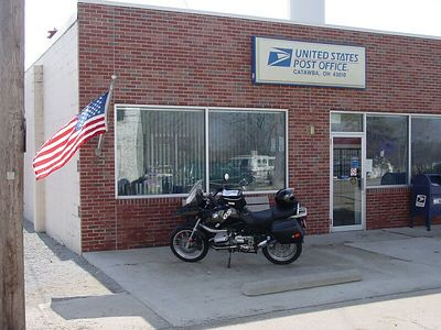 This is where my wife is the Postmaster ...