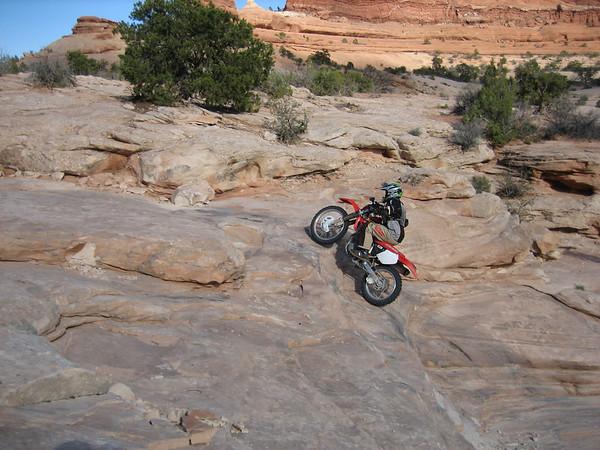 March 2007 Moab Dirt Bike Trip