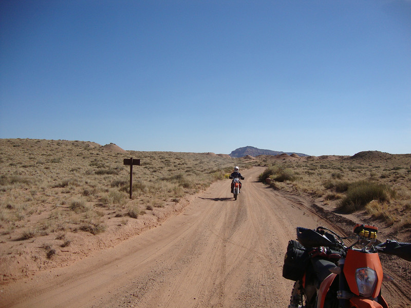 Cathedral valley road cutoff to Sun/Moon temples Day 5