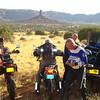 Fry Canyon start and stop - Gordy, Jim, Kent