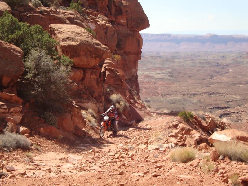Last hill to Piute Pass Day 1 - John