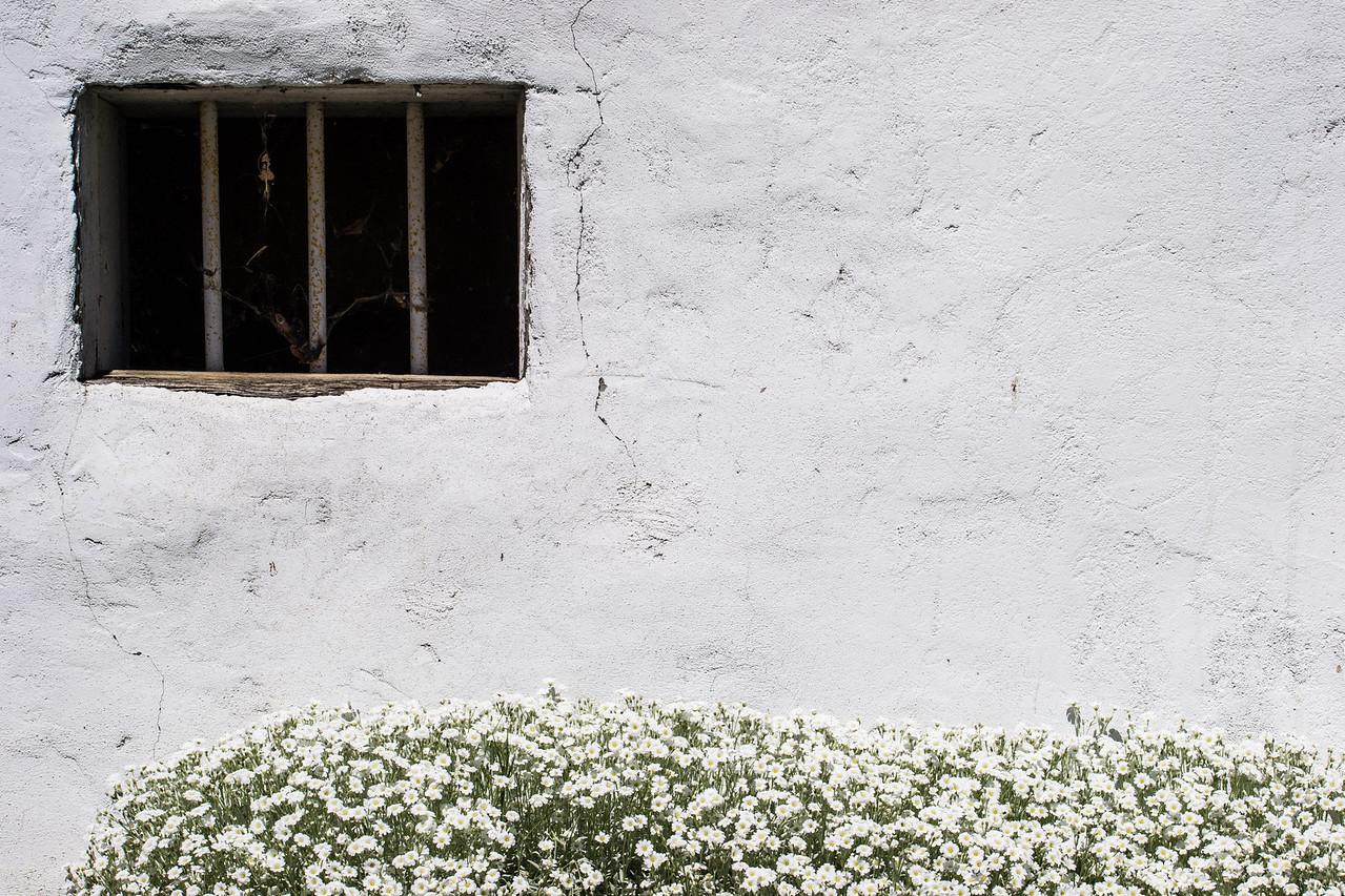 Fade to white at Callahan jail.