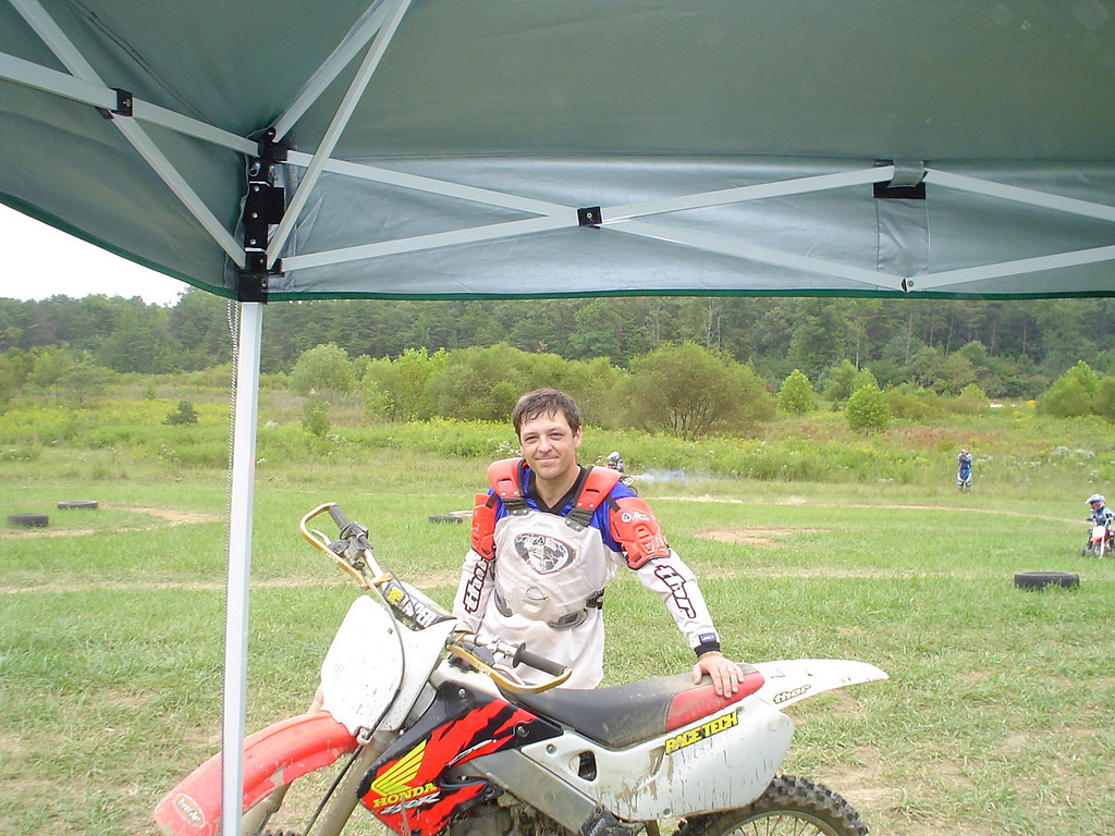 1997 CR250<br /> We're both lighter and faster these days.