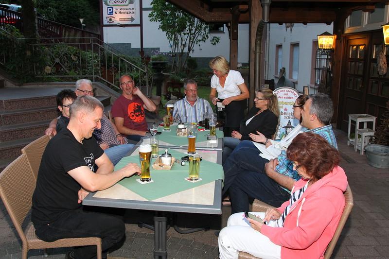Pfingsttour 2017 in Heimbuchenthal (Spessart)