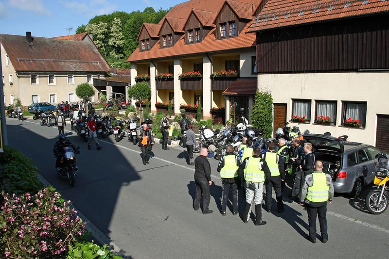 SSBFT - Südstaaten Boxer Fahrer Treffen in Obertrubach-Bärnfels / Fränkische Schweiz - 2009