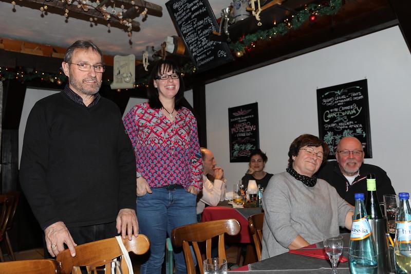 Weihnachtsstammtisch 2017 der BMW Freunde - Wambacher Mühle, Schlangenbad (15.12.2017)