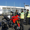 2/2: Multistrada 1200 Ace Cafe meeting for Martha Care Dimitri's Ride charity event