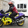 1/4 - Retro's agreed that Pete can take the Busa for a test run.........he should have known better, it didn't take long for the 'Pete Rose effect' to kick in.....