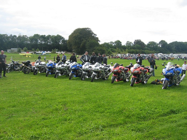 SV1000 owners (sv-portal.com) at Popham Mega Meet August 2005