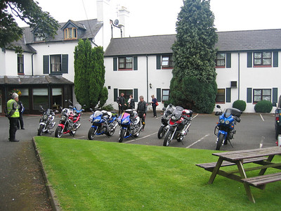 Photo by AndyW - Day 2: Off for the first day's rideout pretty soon...