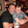 "Friday evening....the Talisman Pub, Southampton<br /> For Connor's sake I hope ""like father like son"" won't be the case! lol"