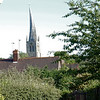 The Church of the Crooked Spire....The Parish Church of St Mary and All Saints Chesterfield (as seen from hotel car park)