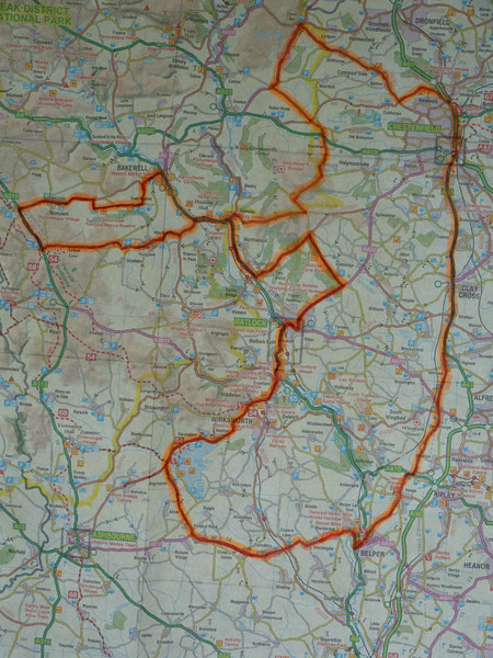 Saturday rideout route