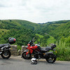 Sat rideout - lunch stop at Mosal Head above Monsal Dale.....amazing view :-)