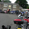 Sat rideout - lunch stop at Mosal Head above Monsal Dale.