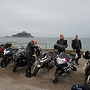 Quick stop off at the car park just outside Marazion - St Michaels mount in the background.